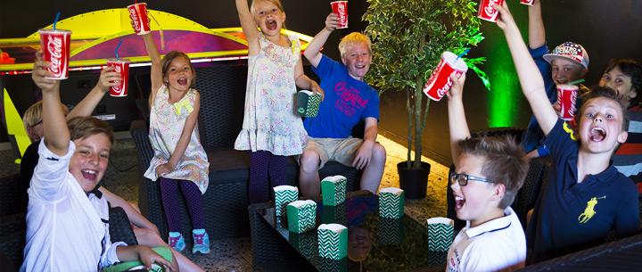 Glada Barn på Laserdome Göteborg