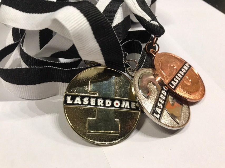 Prislista medaljer Laserdome