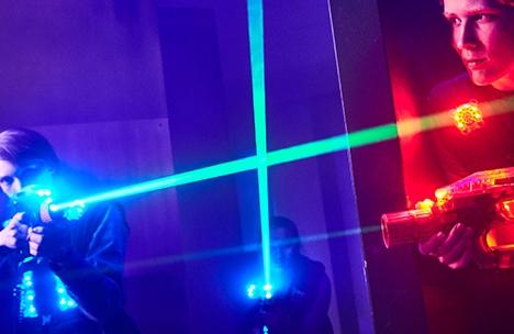 laserdome spelare
